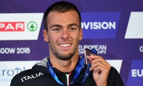 Nuoto, Europei: Miressi è oro nei 100. Bronzi per Paltrinieri, Burdisso, Castiglioni e la 4x200 sl