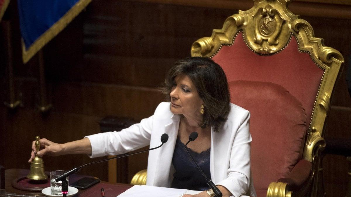 ROMA. Stanno intervenendo tutti i senatori dem, in aula a