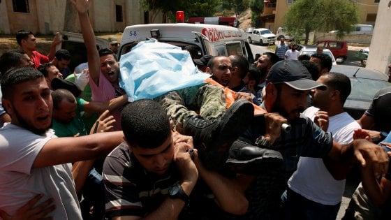 Aeronautica Israele ha attaccato più di 100 obiettivi nella striscia di Gaza