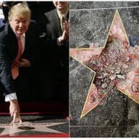 Hollywood vuole togliere la stella di Trump dalla Walk of Fame