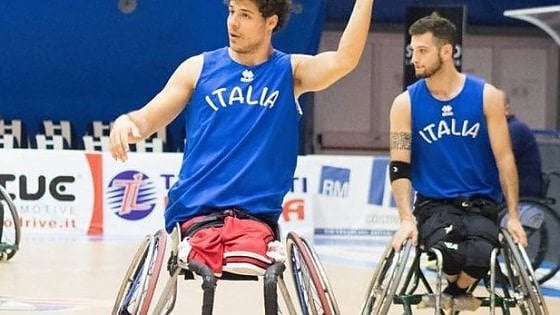 """Filippo, astro del basket: """"Odiavo la carrozzina, poi ho trovato il mio destino"""""""