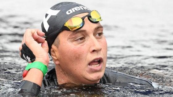 Nuoto, Europei: fondo, Rachele Bruni vince il bronzo nella 5 km