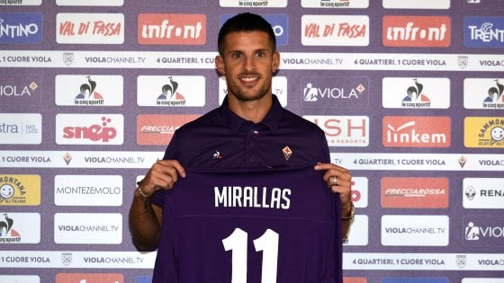 Maglia Home Fiorentina KEVIN MIRALLAS