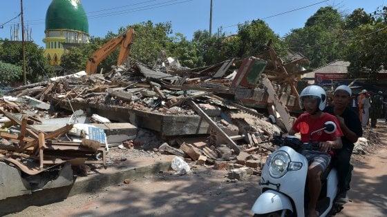 Indonesia, nuovo sisma di magnitudo 5.9 a Lombok