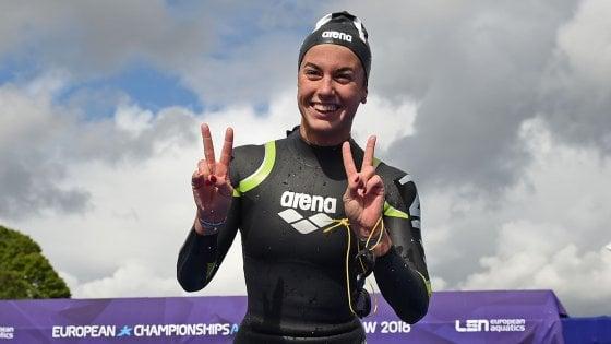 Nuoto, Europei; fondo: Gabrielleschi argento nella 10 km