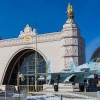 Mosca di ieri e di domani all'Esposizione delle conquiste dell'economia nazionale