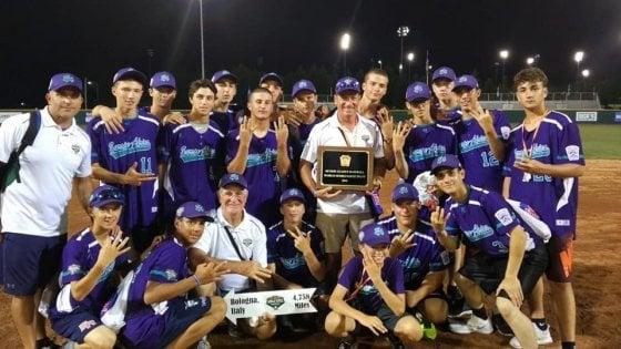 Baseball giovanile, sedicenni dell'Emilia Romagna nell'elite del baseball mondiale