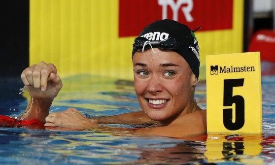 Nuoto, Europei: Quadarella da record, Italia d'oro anche con Codia e Panziera