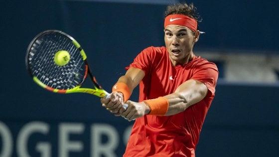 Toronto: Nadal e Zverev ai quarti, esce Djokovic. Sharapova fuori a Montreal