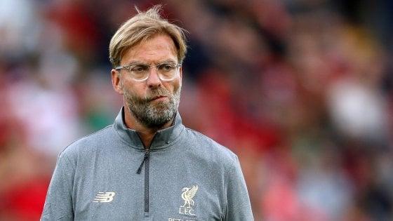 """Klopp spinge il Liverpool: """"Dobbiamo lottare per vincere la Premier"""""""