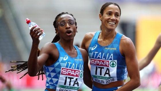 Atletica, Europei: 4x400 femminile in finale con il miglior tempo