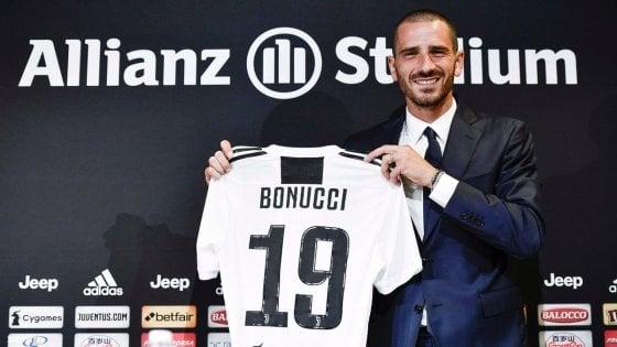 """Juventus, Bonucci: """"Ho sbagliato ad andar via, accetterò i fischi"""""""