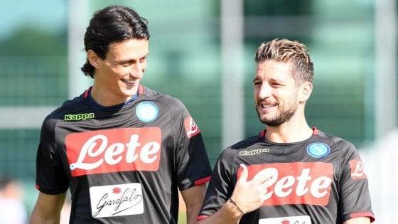 Napoli, in Germania prove di Lazio. Spazio anche a Mertens