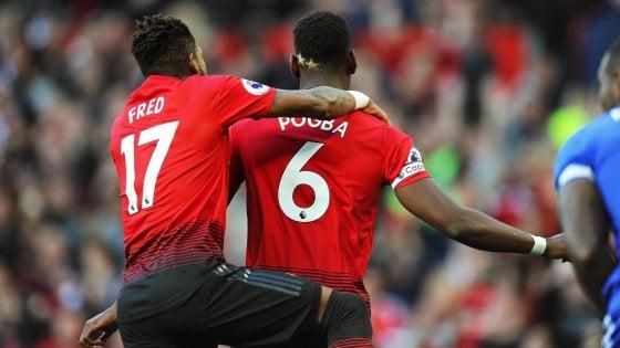 Premier League, capitan Pogba guida lo United. Leicester ko, buona la prima per Mourinho