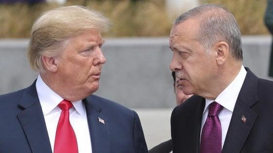 "Turchia-Usa, Erdogan avverte Trump sul Nyt: ""Cercheremo nuovi alleati"""