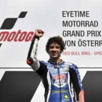 Gp Austria, doppietta italiana in Moto3: vince Bezzecchi, Bastianini secondo