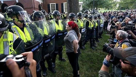 Washington, corteo dell'ultradestra nell'anniversario degli scontri a Charlottesville. Si temono scontri