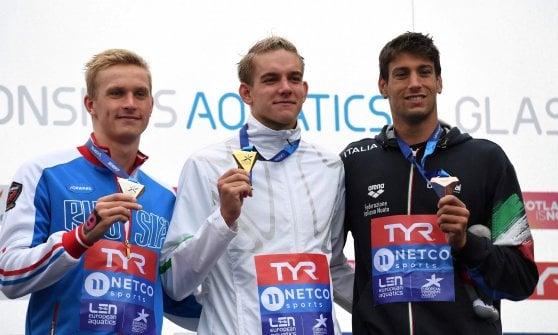 Nuoto di fondo, Europei: Arianna Bridi oro nella 25 km, bronzo per Furlan