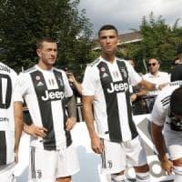 Juventus, festa per Ronaldo e lui va subito in gol. Allegri: ''Vogliamo