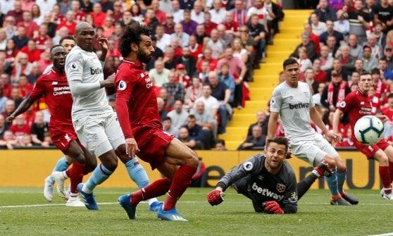 Premier League: il City parte subito forte, 2-0 all'Arsenal. Liverpool sul velluto, poker al West Ham
