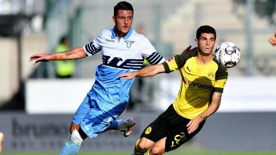 La Lazio cade 1-0 contro il Borussia Dortmund: ai tedeschi basta Reus