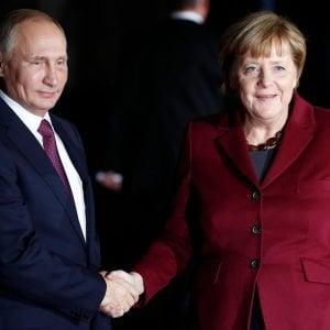 Putin a sorpresa da Merkel, sabato a Berlino