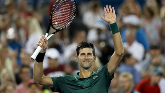 Tennis, Cincinnati: buon esordio per Djokovic e Wawrinka, avanza Serena Williams