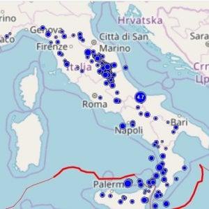 Terremoto di magnitudo 4.7 nel Molise, epicentro a 6 km a su