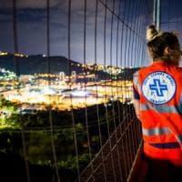 La lunga notte dei soccorritori: