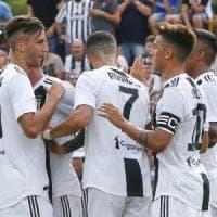 Juventus, otto reti nel test con l'Under 23: la sblocca ancora Ronaldo