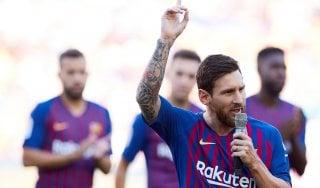 Barcellona, la promessa di Messi: ''Riporteremo la Champions al Camp Nou''