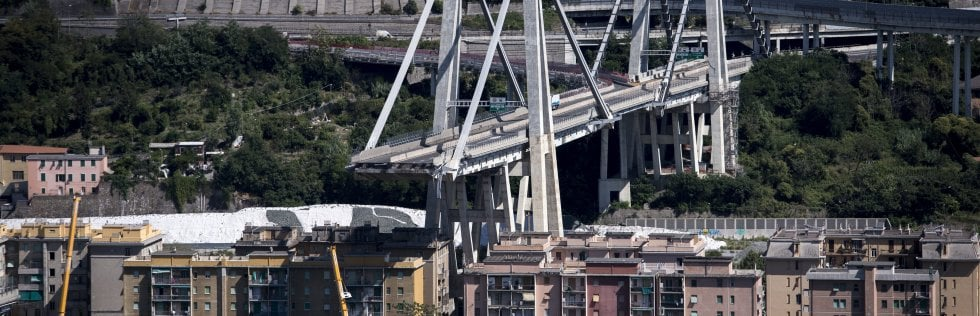 Crollo ponte Morandi: 39 morti. Rischio cedimento di un altro pilone