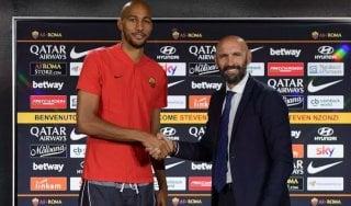 """Roma, Nzonzi: """"Qui per una nuova sfida"""". Monchi: """"Siamo forti, non arriverà l'esterno"""""""