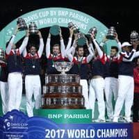 Tennis, rivoluzione Coppa Davis: arrivano le Finals