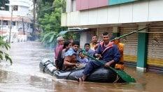 Kerala, 324 morti per le  inondazioni. Gli sfollati sono 150mila