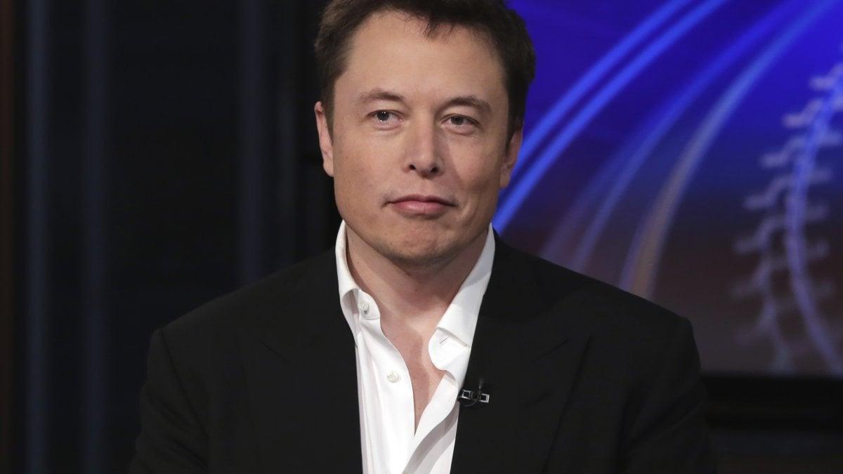 NEW YORK - Elon Musk, imprenditore visionario, parla per la