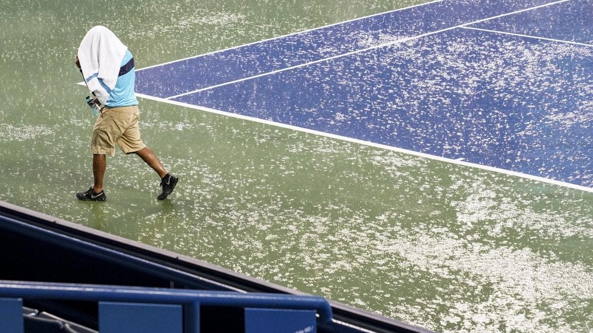 CINCINNATI - Pioggia protagonista nel torneo di Cincinnati. Sul cemento