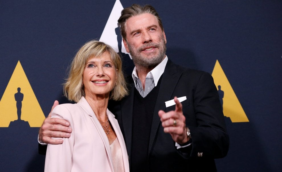 John Travolta e Olivia Newton-John insieme per i 40 anni di 'Grease'