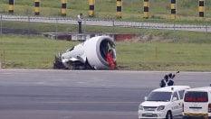 Manila, Boeing fuori pista atterra su un campo. Illesi i 165 passeggeri