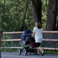 Bimbi in passeggino: esposti all'inquinamento il 60% in più degli adulti