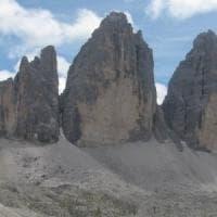Alpinista cade e muore sulle Tre Cime di Lavaredo