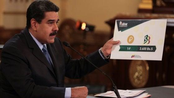 Maduro aumenta salario minimo 35 volte