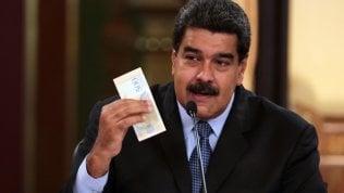 Venezuela, Maduro moltiplica per 34 volte il salario minimo