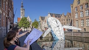 """Bruges, estate da """"Triennale"""""""