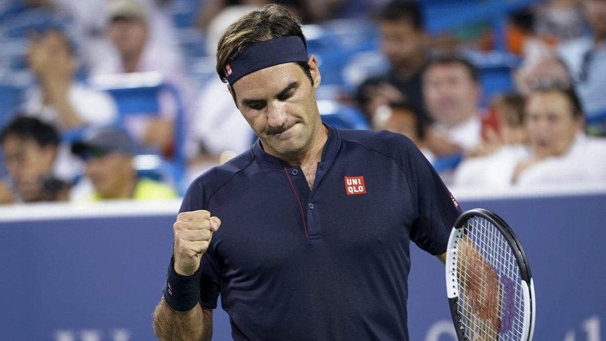 CINCINNATI – Saranno Roger Federer e David Goffin da una