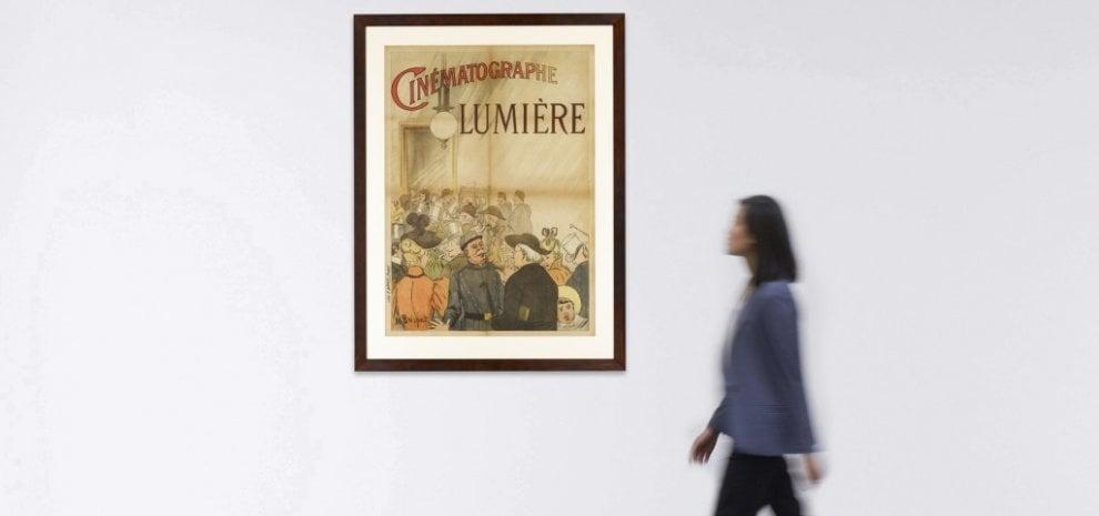 'Cinématographe Lumière', il primo manifesto cinematografico va all'asta