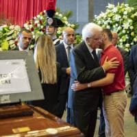 Funerali di Genova, Mattarella: