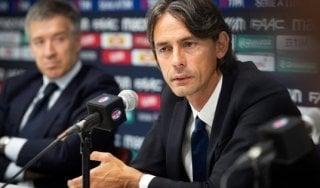 """Bologna, Inzaghi: """"Il derby è un grande stimolo, vorrei giocarlo anch'io"""""""