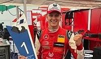 E' ancora Mick Schumacher secondo successo in europeo