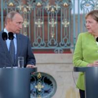 "Putin va da Merkel: ""Il gasdotto Nord Stream 2 rafforzerà l'Europa"""